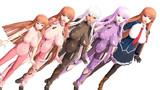 【MMD対魔忍】甲河アスカVer2.00【モデル配布】
