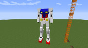 [Minecraft/JointBlock]急造ガンダムその2