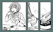 ちひろさんの漫画『お昼ランチ』