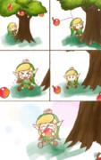 リンゴが欲しい勇者