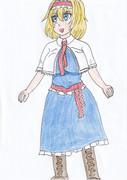 アリスも描いてみた