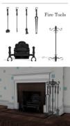 暖炉用品セット