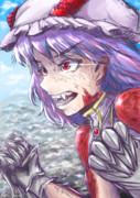 【東方卓遊戯】[東方紅地剣]絶対ドラゴン封印するウーマン、レミリー