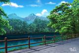夏の毘沙門沼