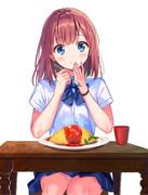ご飯が美味しいのはあなたと一緒だからかな