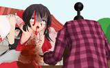 鉄アレイで殴られるRU姉貴