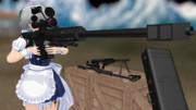 [MMDモデル配布あり] M82A3(M107)