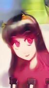 日本鬼子 (自動着色・PaintsChaner) 微笑・やや見上げ