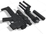 テイクダウン可能な狙撃用AR15製作中
