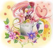 Cherry Blossoms Of Miku
