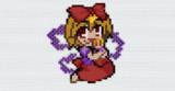 [minecraft 1.14.4]キャラのみ No.015 ちびメディ[東方人形劇]