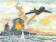 ベトナム人民軍Mig17爆撃
