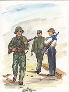 ベトナム人民軍兵士