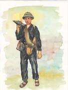 ベトナム人民軍兵士 バズーカ砲