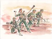 ベトナム人民軍戦う兵士