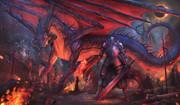 黒竜と騎士