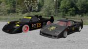 mmdリッジレーサー 2台のデビルカー