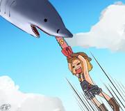 鮫相手が得意そうなサーヴァント、誰だろうな。