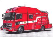 もしも東京消防庁がバス型の救助車を採用したら…?