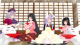 【東方ニコ楽祭・酒宴】永遠亭の宴