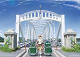 曲弦式ワーレントラス橋