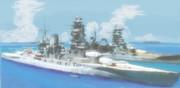 戦艦「長門」 -こつこつ落書き-