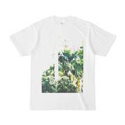 シンプルデザインTシャツ ジャングルの電柱