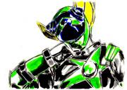 宇宙戦隊キュウレンジャー カメレオングリーンムーン