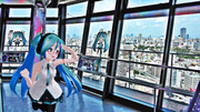 【ミクさんと】通天閣×初音ミクCollaboration2019【大阪】