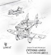 連絡型MS「キャッチボール連絡機」LBMS51型