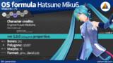 【MMD + Blender】OS式初音ミク6 (V3E)【モデル配布】