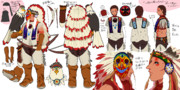 【イスタカ】インディアン風衣装