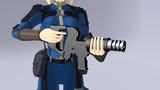 [MMD銃器] VectorP [モデル配布]