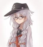 眼鏡おさげ響