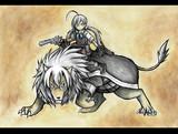 清霜と武蔵ライオン
