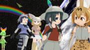 MMD 虹の向こう MikuMikuDance