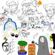 金ロー見ながら雑談枠 寄せ書き(2019.8.30放送)