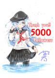 5000フォロワー記念!響