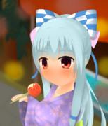 夏祭り葵ちゃん