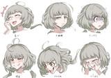 オリジナル子2 表情差分