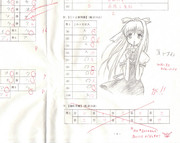 政治経済の解答用紙に落書き【観鈴ちん】