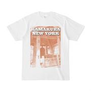 シンプルデザインTシャツ KAMAKURA NEW YORK