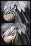 「ハシビロちゃん、ひさしぶりに怖い顔してみてー!」        「え?!こ、こう?(キリッ)」