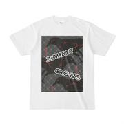 Tシャツ | ホワイト | ゾンビカラスちゃん