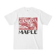 シンプルデザインTシャツ MAPLE