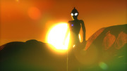 夕映えの戦士