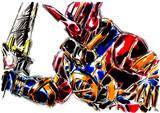 仮面ライダーエボル ラビットフォーム
