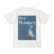 シンプルデザインTシャツ Sea Monkey