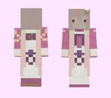 【minecraft】エノテラ(花騎士) スキン(サンプル)