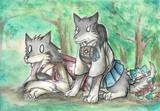 赤城犬と加賀犬